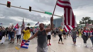 Tampa protesters call for change in Cuba