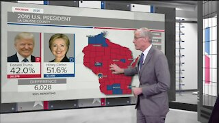 Breaking down latest voting numbers in Wisconsin