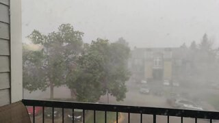 Strong winds, hail in Arapahoe County