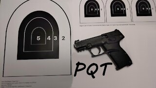 Pistol Qualification Test Course of Fire - Project Appleseed