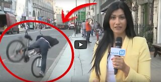 20 Top funny moments with reporters in sports