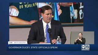 Governor Ducey speaks on death of George Floyd, protests across Arizona
