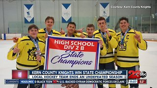 Kern County Knights win state championship