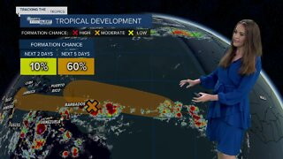 Tracking the Tropics: 2 tropical waves in the Atlantic