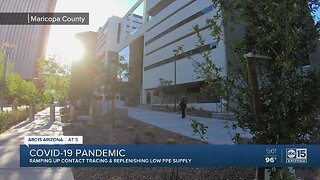 Contact tracing being ramped up in Maricopa County