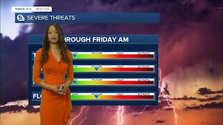 Power of 5 Weather team tracking afternoon storms