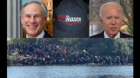 Stop The Invasion: Dementia Joe and his radical leftist administration are happy to destroy America.