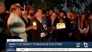 Impact of deadly Poway synagogue shooting