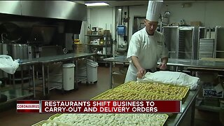 Restaurants prepping to offer delivery options during outbreak