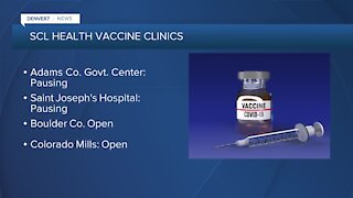 SCL Health changing some vaccine sites