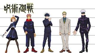 Jujutsu Kaisen | Characters Height Comparison