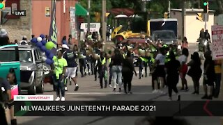 Milwaukee's 50th Juneteenth parade