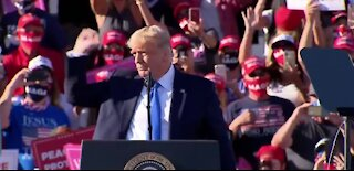 Trump campaigns in Carson City ahead of election day