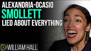 Alexandria-Ocasio Smollett Caught RED HANDED!