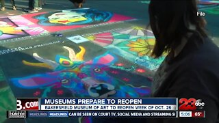 Museums prepare to reopen as Kern County moves into the Red Tier
