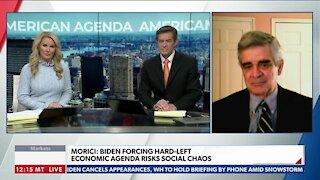 Morici: Biden Forcing Hard-Left Economic Agenda Risks Social Choas