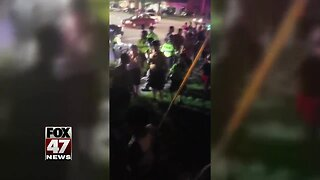 Fights Break Out During Fireworks Show