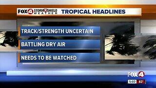Tropical Storm Dorian approaching Barbados