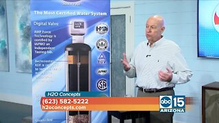H2O Concepts: Fix your water problems with just one system