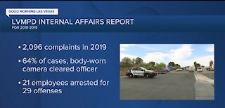 Las Vegas police release first Internal Affairs Accountability report