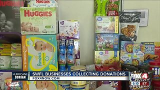 Local businesses collect items for the Bahamas