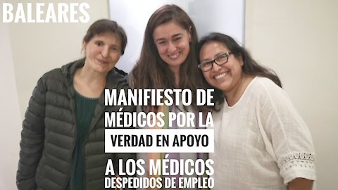 Manifiesto en Apoyo a los Médicos despedidos de empleo