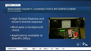 Wagoner County Looking for E-911 Dispatchers