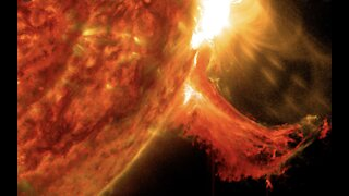 Biggest solar flare in three years is sign sun is 'waking up'