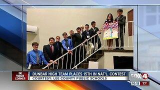 Dunbar High School team competes in national tournament in Las Vegas