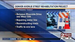 Denver Avenue street rehabilitation project