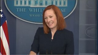 Frustrated Psaki LAUGHS About Kids In Cages When Reporter Asks Tough Questions