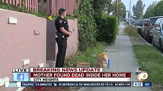 Woman found dead by daughter in City Heights home
