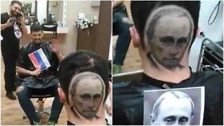 Denne Vladimir Putin-inspirerte frisyren er imponerende