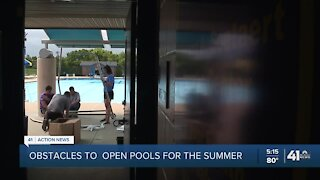 Employee and chlorine shortage making pool season difficult