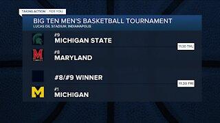 Michigan, MSU look ahead to Big Ten Tournament