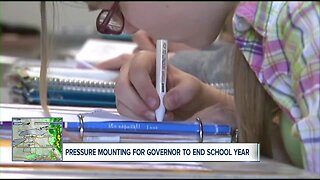 Pressure mounting for state to end school year