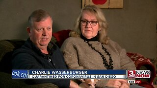 Omaha man returns from quarantine in San Diego