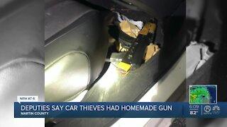 Martin County recover homemade gun from stolen car