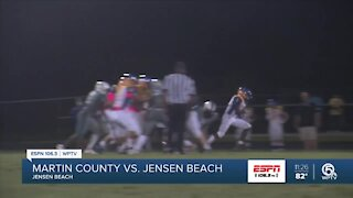 Martin County pulls out rivalry win