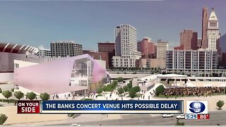 Hurdles mount for The Banks concert venue to open on time