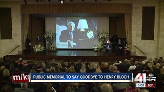 KC icon Henry Bloch remembered during memorial service