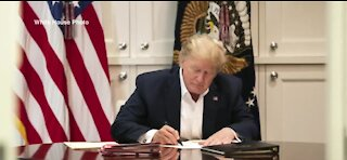 President Trump remains at Walter Reed Medical Center Sunday