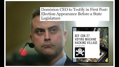 Dominion CEO Testifies Before State Legislator For The First Time. Highlights and Thoughts.