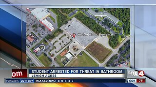 Student arrested for threat at a Lehigh Acres elementary school