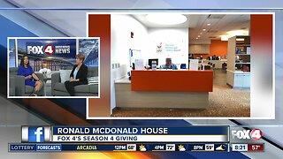 Season 4 Giving: Ronald McDonald House