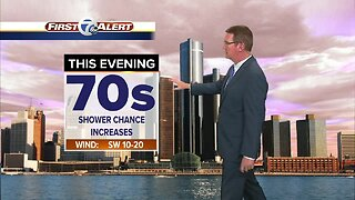 Metro Detroit Forecast: Showers turn to storms