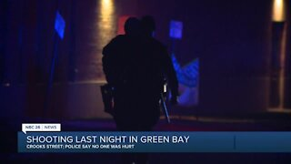 Green Bay shooting on Crooks Street