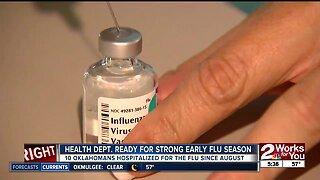 Health department ready for flu season