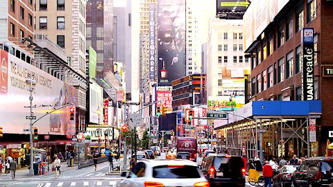 The Beautiful Times Square New York City