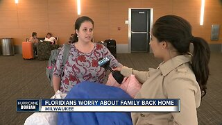 Floridians worry about family back home ahead of hurricane